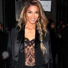 This beautiful lady just got engaged!!! I am so happy for her. Love you @ciara  #IActLikeIKnowHer #IDont #lol #ciara #russelwilson #blackhaiirstyles #repost #fishtailbraid #fishtail #weaves #protectivestyles