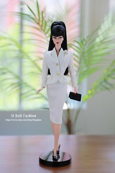 vintage suit for Silkstone Barbie by SL Doll Fashion LE5