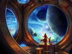 """crossconnectmag: """" Fantasy Art by Julie Dillon Julie Dillon (born in is an American artist specializing in science fiction and fantasy art. She received a BFA in Fine Arts from Sacramento. Space Fantasy, Fantasy Artwork, Fantasy World, Arte Sci Fi, Sci Fi Art, Fantasy Setting, Science Fiction Art, Fantasy Inspiration, Fantasy Landscape"""