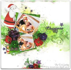 January InspirationTwo Christmas Layouts To ShareBy Di Garling