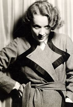 "oopswrongcentury:  "" Marlene Dietrich (ca.1931).  """