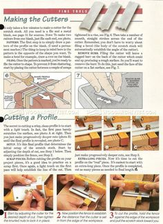 #383 Making Scratch Stock - Woodworking Hand Tools