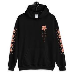 Aesthetic Oversized Love Hope Believe hoodie, Flower Hoodie, Streetwea… Stylish Hoodies, Cool Hoodies, Men's Hoodies, Cute Comfy Outfits, Cool Outfits, Korean Streetwear, Girl Streetwear, Streetwear Fashion, Streetwear Summer