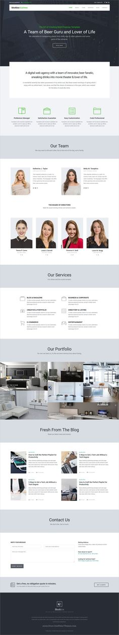 Blockbox is clean and modern design multipurpose responsive #HTML5 theme for #corporate website with 25+ homepage layouts, 8 app and dashboard templates download now..