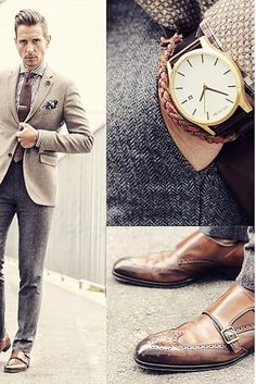 Thanks to @whatmyboyfriendwore for some dapper work week inspiration