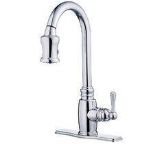 Opulence Single Handle Pull-Down Kitchen Faucet   Danze