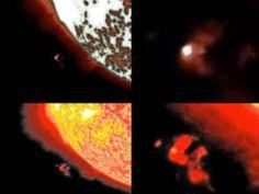Disso Voce Sabia?: UFO - Objeto Gigante, Desconhecido se Choca Contra o Sol em 26 de Dezembro de 2013