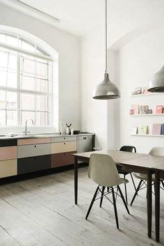 colorblock cabinets