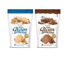 Diamond Grains Multi-grain Crisp on Packaging of the World - Creative Package Design Gallery