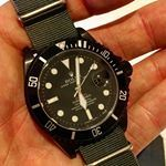 Bamford Watch Department – Customised Luxury Watches – Black Rolex MGTC – BLACK OPS – DEEPSEA