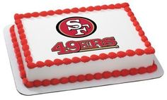 1 X NFL San Francisco 49ers  Edible Cake Image Topper by DecoPac * You can find out more details at the link of the image.(This is an Amazon affiliate link)