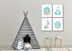 Baby Boy Art, Baby Boy Nursery Decor, Safari Nursery, Baby Boy Nurseries, Nursery Wall Art, Airplane Wall Art, Navy Blue Decor, Playroom Wall Decor, Baby Prints
