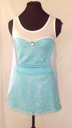 Elsie Inspired complete running Outfit by iGlowRunning on Etsy, $140.00