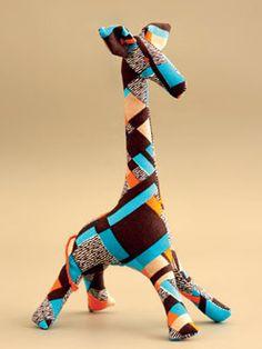Žirafa | střih a návod | en