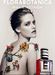 Fashionista Smile: Balenciaga: feat. Kristen Stewart for Florabotanica