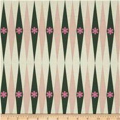 Cotton & Steel Playful Backgammonish Green