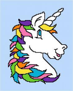 New Ideas crochet unicorn pattern free etsy Crochet Unicorn Pattern Free, Free Crochet, Irish Crochet, Free Pattern, Tunisian Crochet, Double Crochet, Single Crochet, Knitting Needle Size Chart, Knitting Needles