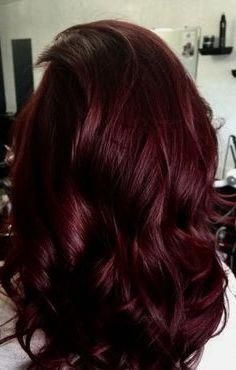 50 Red Hair Color Ideas in From ginger to gem tones, red is dependably a s. - 50 Red Hair Color Ideas in From ginger to gem tones, red is dependably a striking decision. Deep Red Hair Color, Cherry Hair Colors, Brown Hair Colors, Cool Hair Color, Black Cherry Hair Color, Red Black Hair, Dark Red Hair Burgundy, Ruby Red Hair, Wine Red Hair Color