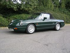 Alfa Romeo Spider, S Car, Sport Cars, Vintage Cars, Cool Cars, Classic Cars, Spiders, Wheels, Loft