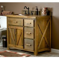 1000 Images About Barn Wood Vanity On Pinterest Wood