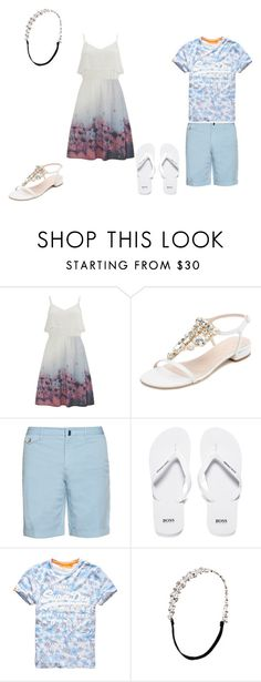 """Sem título #26"" by talita-cremasco on Polyvore featuring beleza, Vero Moda, Kate Spade, Incotex, BOSS Orange, Superdry e Johnny Loves Rosie"