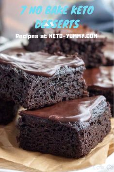 7 No Bake Keto dessert that will show how keto life can be yummy! #nobake #ketocake #ketodesserts #ketofood #ketodish #ketofood