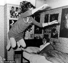 Enfield Poltergeist: The amazing story of the 11-year-old North London girl who 'levitated' above her bed | Daily Mail Online