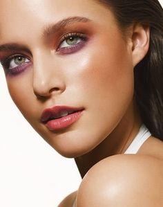 model, kim cloutier, makeup, pretty, face, girl
