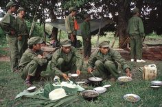 Yves Gellie - Khmer Rouge site. Phum Chhuk village, 1992.