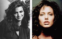 En GIA (1998) Angelina Jolie interpreta a la modelo Gia Marie Carangi (1960 – 1986)