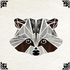 raccoon! Art Print by Manou | Society6