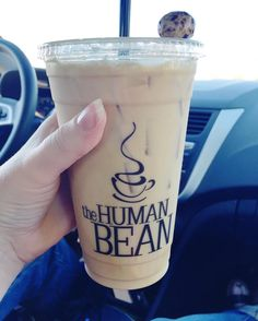 How could I not get coffee at a stand with a clever name like The Human Bean?! Plus they gave me a chocolate covered espresso bean  #darlingweekend #thatsdarling #hwbc