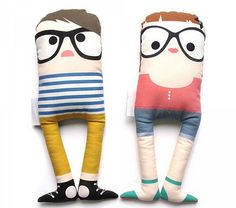 For the hipster in the making. They are cute though...