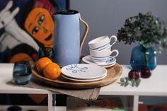 Zeit für eine kleine Kaffeepause? #gmundner #keramik #kaffeeset #geschirr #handbemaltes #coffee #coffeetime #interior