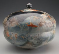 White earthenware clay, burnished, terra sigillata  Alex Mandli Pit fired