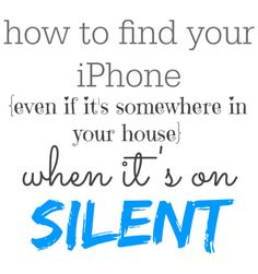 how to find an iPhone even if it's on silent - how 'find my phone' ACTUALLY works!