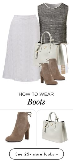 """""""Untitled #1912"""" by erinforde on Polyvore featuring Prada and Stuart Weitzman"""