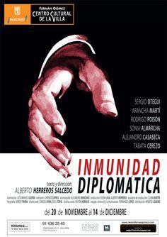 INMUNIDAD DIPLOMÁTICA De Alberto Herreros Salcedo en el Teatro Fernán Gómez