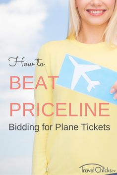 bid on airline tickets for cheap
