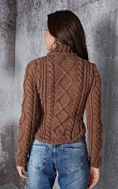 Moda Crochet, Knit Crochet, Knitting Patterns Free, Knit Patterns, Knitting Videos, Casual Street Style, Easy Wear, Alternative Fashion, Cardigans For Women