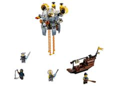 The LEGO Ninjago Movie (70610 Flying Jelly Sub)