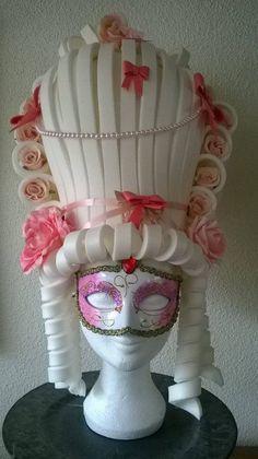 Marie Antoinette espuma blanca por LadyMallemour en Etsy