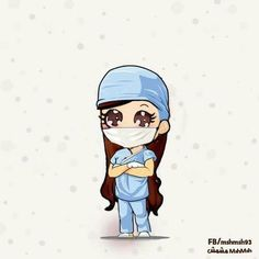 Find images and videos about doctor, medicine and medical on We Heart It - the app to get lost in what you love. Medical Quotes, Medical Art, Nurse Cartoon, Girl Cartoon, Medical Wallpaper, Nurse Art, Manga Anime, Cute Girl Drawing, Girly Drawings