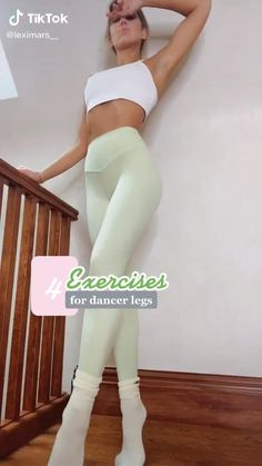 Fitness Workouts, Fitness Workout For Women, Sport Fitness, Yoga Fitness, Body Weight Leg Workout, Full Body Gym Workout, Slim Waist Workout, Butt Workout, Dancer Workout