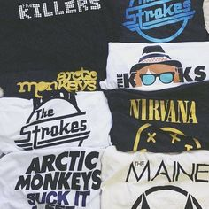 Literally if somebody bought me band t-shirts for Christmas and just that I would be so happy.