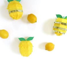 Lemon piñata