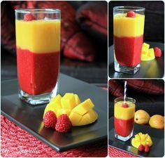 Raspberry Mango Sunrise <3