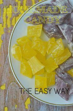 zelf snoepjes of zuurtjes maken Candy Recipes, Fall Recipes, Snack Recipes, Macarons, Homemade Candies, Diy Food, Fudge, Healthy Snacks, Bakery