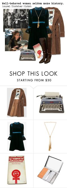 """Good Girls Revolt: Patti"" by jenmontreal ❤ liked on Polyvore featuring Gucci, Roksanda, Chloé, HUGO, vintage, 1960, 1970 and goodgirlsrevolt"