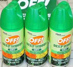 Deep Woods off Oz. Dry Insect Repellent Aerosol Spray 73622 - 1 Each for sale online Insect Repellent Spray, Mosquitoes, Drink Bottles, Woods, Insects, Deep, Sprays, Ebay, Garden